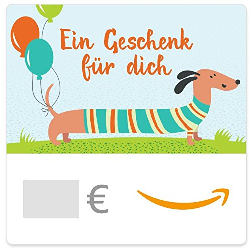 Digitaler Amazon.de Gutschein (Dackel)