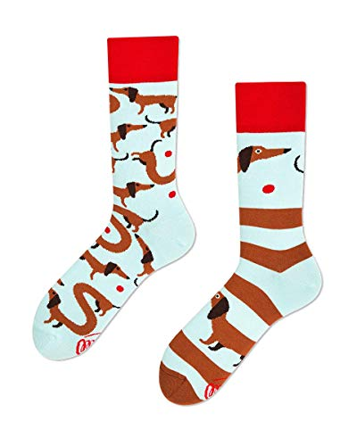 Many Mornings unisex Socken Sausage Dog (43/46)